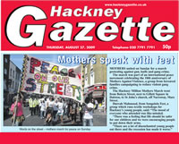 Million Mothers March Hackney Songololo